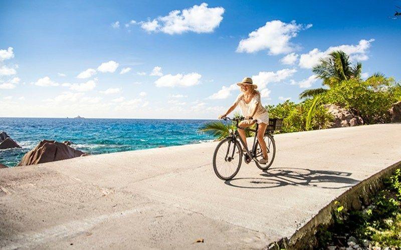 La Digue Boat / Bike (from Mahe)