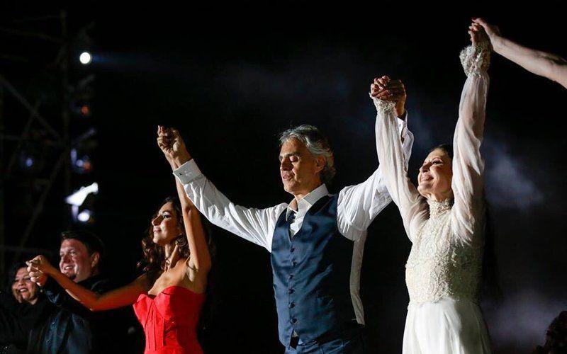 Andrea Bocelli: Concert & Dinner